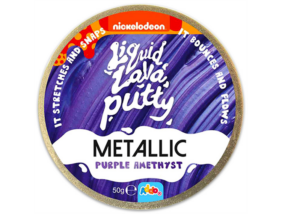 Intelligens putty gyurma - Fémes - Lila