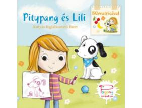Pitypang és Lili - Kutyás foglalkoztató füzet - 80 matricával