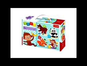 Trefl - Baby puzzle táskában - Élvezetek