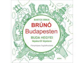 Brúnó Budapesten 2. - Buda hegyei lépésről lépésre - fényképes foglalkoztató
