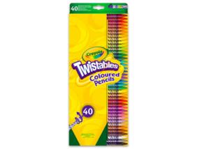 Crayola - 40 darabos csavarozható színes ceruza