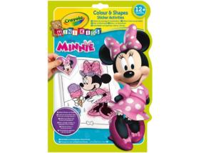 Crayola - Minnie egér színező és foglalkoztató füzet