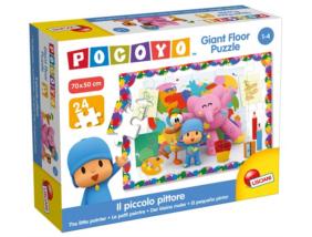 Pocoyo - 24 db-os Disney Parketta puzzle - Pocoyo fest