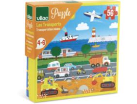 Vilac - Közlekedés - 56 db-os puzzle