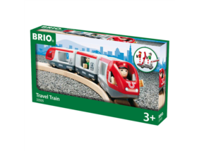 Brio - Utasszállító vonat - piros