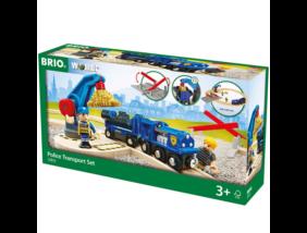 Brio - Rendőrvonat szett