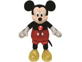 Mickey egér plüss figura - nevető hanggal - 20 cm