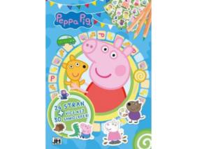 Peppa malac és barátai - Foglalkoztatókönyv matricákkal