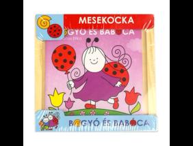 Bogyó és Babóca - fa mesekocka - 9 db-os - Babóca és barátai