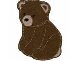Hűtőmágnes Medve fiú