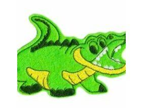 Hűtőmágnes Krokodil