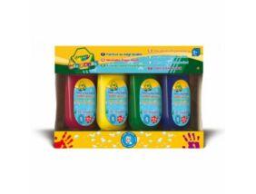 Crayola-Tubusos lemosható ujjfesték 4 db-os