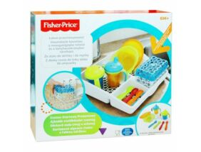 Fisher Price-Komplett baba etetőkészlet tárolóval