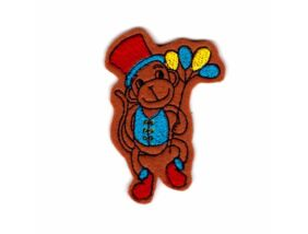 Hűtőmágnes-Cirkuszi majom fiú