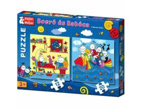 Bogyó és Babóca puzzle - A Szivárványhal - 12 -és 20db-os