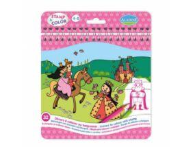 Aladine Nyomdázz és színezz-Hercegnők