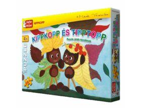 Kippkopp és Tipptopp-Puzzle játék