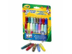 Crayola Mini csillámos ragasztó 16 db-os