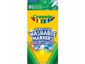 Crayola-Extra kimosható filctoll 8 db-os