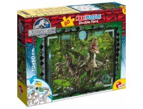 Jurassic Park maxi puzzle 60 db-os-Raptorok