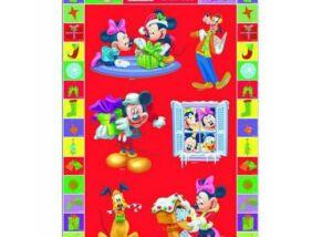 Mickey Egér karácsonyi matrica 10x20 cm