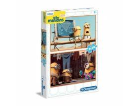 Clementoni-Minyonok puzzle 2x20 darabos