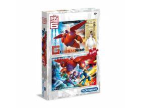 Clementoni-Big Hero 6 puzzle 2x60darabos