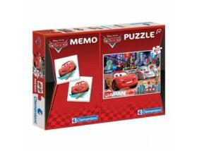 Clementoni-Verdák puzzle 60 db Memória játék