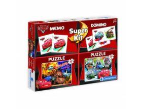 Clementoni-Verdák 2x30 puzzle Memória Dominó