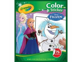 Crayola-Jégvarázs kifestő matricával