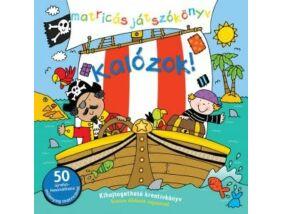 Kalózok-Matricás foglalkoztató könyv