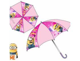 Minion, Minyon esernyő - rózsaszín