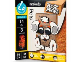 Makedo-BoxProps Arcok Házi kedvencek