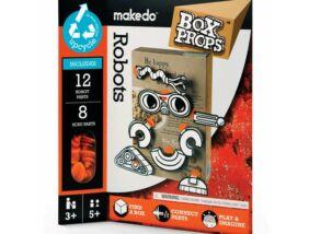 Makedo-BoxProps Arcok Robotok