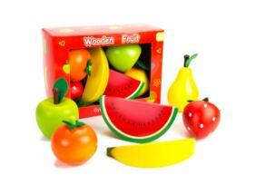 Fajáték-Gyümölcskészlet 6 db-os