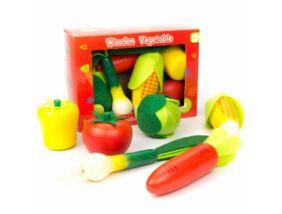 Fajáték-Zöldségkészlet 6 db-os