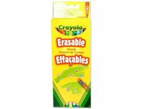 Crayola-Színes ceruza radírvégű 10 db