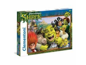 Clementoni-Shrek puzzle 104 db-os
