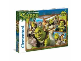 Clementoni-Shrek 2 puzzle 104 db-os