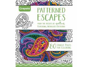 Crayola-Felnőtt színezőkönyv 80 lap-Kreatív minták