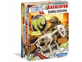 Clementoni-Archeofun-Kardfogú tigris