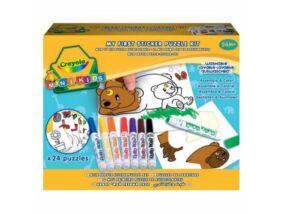 Crayola-Matricás puzzle kicsiknek