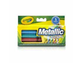 Crayola-Metál színű filcek