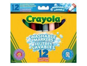 Crayola-Vastag extra kimosható filctoll 12 db-os