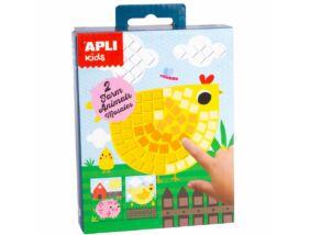 Apli Kids-Mini Kit mozaiktechnika Farmállatok
