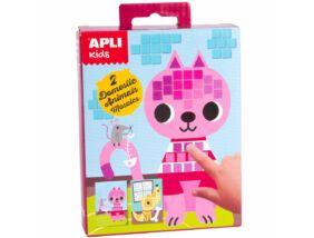 Apli Kids.Mini Kit mozaiktechnika Háziállat