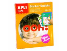Apli Kids-Sudoku matricázó sárga