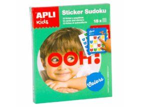 Apli Kids-Sudoku matricázó zöld
