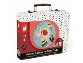 Janod-Cirkusz kreatív szett bőröndben