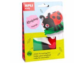 Apli Kids Craft Kit figura készítő-Katicabogár